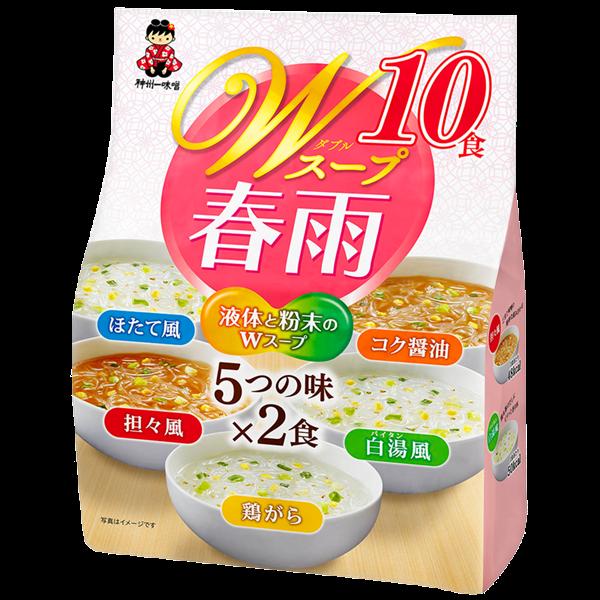Wスープ春雨 10食